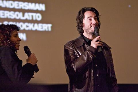 Director Remi Besancon introduces his film A Happy Event (Un heureux evenement)